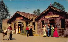 amp005017 - Knott's Berry Farm, Ghost Town, California, CA, USA Postcard