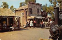 amp005018 - Knott's Berry Farm, Ghost Town, California, CA, USA Postcard