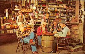 amp005045 - Knott's Berry Farm, Ghost Town, California, CA, USA Postcard