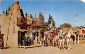 amp005046 - Knott's Berry Farm, Ghost Town, California, CA, USA Postcard