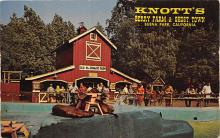 amp005047 - Knott's Berry Farm, Ghost Town, California, CA, USA Postcard