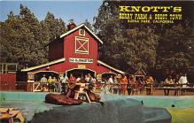 amp005054 - Knott's Berry Farm, Ghost Town, California, CA, USA Postcard