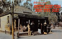 amp005056 - Knott's Berry Farm, Ghost Town, California, CA, USA Postcard