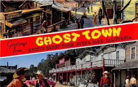 amp005072 - Knott's Berry Farm, Ghost Town, California, CA, USA Postcard