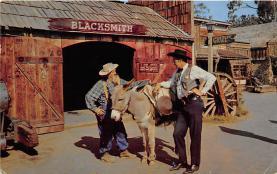 amp005079 - Knott's Berry Farm, Ghost Town, California, CA, USA Postcard