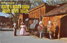 amp005088 - Knott's Berry Farm, Ghost Town, California, CA, USA Postcard