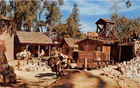 amp005110 - Knott's Berry Farm, Ghost Town, California, CA, USA Postcard