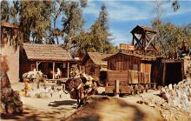amp005115 - Knott's Berry Farm, Ghost Town, California, CA, USA Postcard