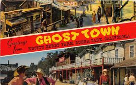 amp005118 - Knott's Berry Farm, Ghost Town, California, CA, USA Postcard