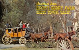 amp005122 - Knott's Berry Farm, Ghost Town, California, CA, USA Postcard