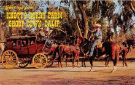 amp005126 - Knott's Berry Farm, Ghost Town, California, CA, USA Postcard