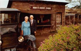 amp005140 - Knott's Berry Farm, Ghost Town, California, CA, USA Postcard