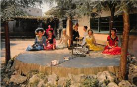 amp005147 - Knott's Berry Farm, Ghost Town, California, CA, USA Postcard