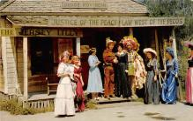 amp005149 - Knott's Berry Farm, Ghost Town, California, CA, USA Postcard