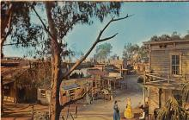 amp005163 - Knott's Berry Farm, Ghost Town, California, CA, USA Postcard