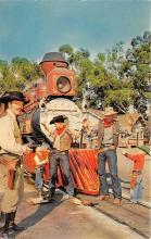amp005167 - Knott's Berry Farm, Ghost Town, California, CA, USA Postcard