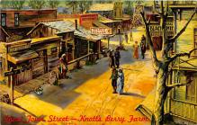 amp005172 - Knott's Berry Farm, Ghost Town, California, CA, USA Postcard