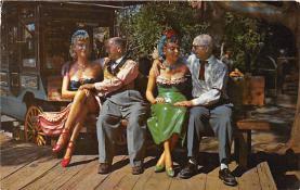 amp005174 - Knott's Berry Farm, Ghost Town, California, CA, USA Postcard