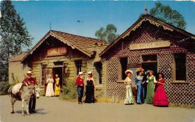 amp005180 - Knott's Berry Farm, Ghost Town, California, CA, USA Postcard
