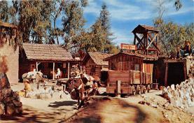 amp005190 - Knott's Berry Farm, Ghost Town, California, CA, USA Postcard