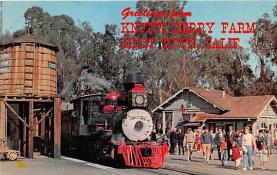 amp005199 - Knott's Berry Farm, Ghost Town, California, CA, USA Postcard