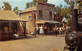 amp005203 - Knott's Berry Farm, Ghost Town, California, CA, USA Postcard