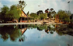 amp005205 - Knott's Berry Farm, Ghost Town, California, CA, USA Postcard