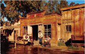 amp005208 - Knott's Berry Farm, Ghost Town, California, CA, USA Postcard
