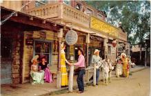 amp005216 - Knott's Berry Farm, Ghost Town, California, CA, USA Postcard