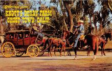 amp005220 - Knott's Berry Farm, Ghost Town, California, CA, USA Postcard