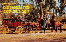 amp005224 - Knott's Berry Farm, Ghost Town, California, CA, USA Postcard