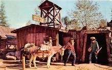 amp005226 - Knott's Berry Farm, Ghost Town, California, CA, USA Postcard