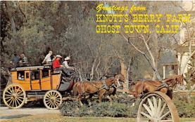 amp005237 - Knott's Berry Farm, Ghost Town, California, CA, USA Postcard