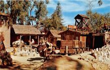 amp005243 - Knott's Berry Farm, Ghost Town, California, CA, USA Postcard