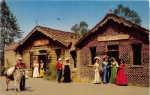 amp005248 - Knott's Berry Farm, Ghost Town, California, CA, USA Postcard