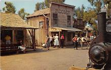 amp005261 - Knott's Berry Farm, Ghost Town, California, CA, USA Postcard