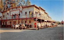 amp005268 - Knott's Berry Farm, Ghost Town, California, CA, USA Postcard