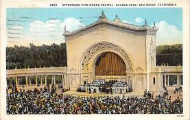 amp005328 - San Diego, California, CA, USA Postcard