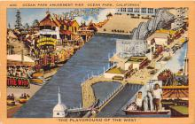 amp005364 - Ocean Park, California, CA, USA Postcard