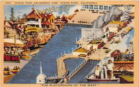 amp005369 - Ocean Park, California, CA, USA Postcard