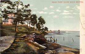 amp007121 - Savin Rock, Connecticut, CT, USA Postcard