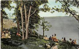 amp007130 - Savin Rock, Connecticut, CT, USA Postcard