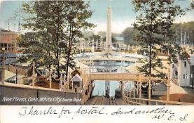 amp007144 - Savin Rock, Connecticut, CT, USA Postcard