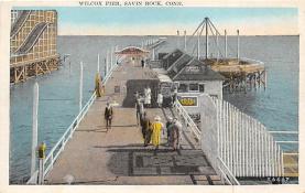 amp007152 - Savin Rock, Connecticut, CT, USA Postcard