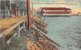 amp007185 - Savin Rock, Connecticut, CT, USA Postcard
