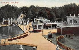 amp007207 - Savin Rock, Connecticut, CT, USA Postcard