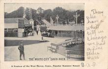 amp007219 - A Feature of the West Haven, Connecticut, CT, USA, Popular Summer REsort Postcard