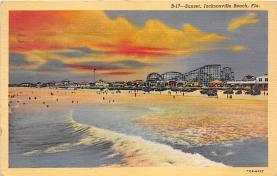 amp009029 - Jacksonville Beach, Florida, FL, USA Postcard