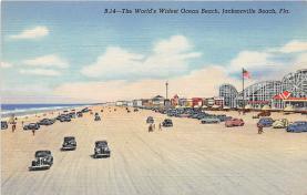 amp009030 - Jacksonville Beach, Florida, FL, USA Postcard