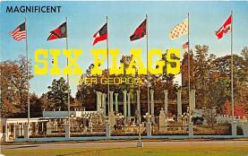 Six Flags Over Georgia, Entrance